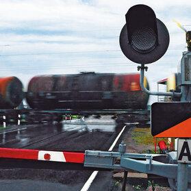 Kompletny przejazd kolejowy w wykonaniu firmy Pilz