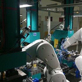"""Projektowanie maszyn – """"Gniazdo robotów"""""""