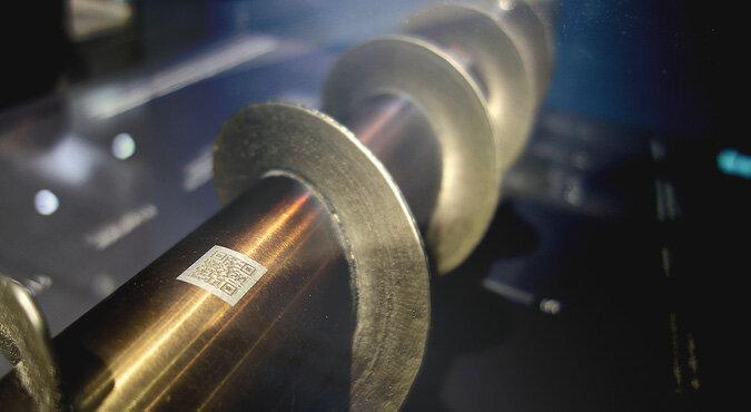 1c1f390fbee68 Ślimacznica napawana na wale przy pomocy LASERTEC 65 3D – detal surowy