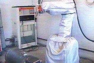 Stanowisko z robotem ABB IRB2000/S2