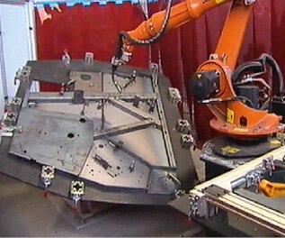 Stanowisko spawania z robotem KUKA KR16 i pozycjonerem DKP400