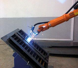 Spawanie z wykorzystaniem schematu paletyzacji – robot KUKA KR16L6
