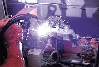 Spawanie z robotem ABB IRB 1600 i pozycjonerem IRBP
