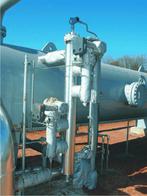 Radar GWR zainstalowany w wysokociśnieniowym separatorze gaz-ropa