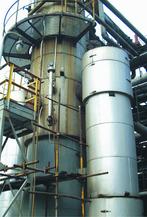 Kolumna destylacyjna metanolu - pomiary za pomocą radaru GWR