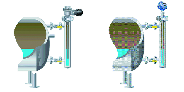 Wykorzystanie istniejących komór i kołnierzy umożliwia łatwą wymianę przetwornika nurnikowego na radar falowodowy