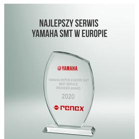 Grupa RENEX odznaczona nagrodą YAMAHA Best Service Provider Award